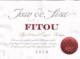 "Etiquette ""  FITOU Jean De Sisa 2018"" - Sin Clasificación"