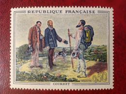 FRANCE NEUF ** N° 1363 COURBET - Unused Stamps