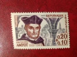FRANCE NEUF ** N° 1370 AMYOT - Unused Stamps
