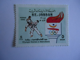 JORDAN    MINT   STAMPS  OLYMPIC GAMES  BARCELONA  1992 - Jordania