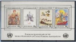 ONU New York 1986 40 E Anniversaire Wfuna - Sin Clasificación