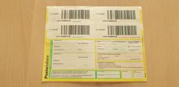 Mod. A635 PACCO CELERE 3 RICEVUTA PER AMMINISTRAZIONE Modulo ORDINARIO Paccocelere Paccocelere3 Assicurata ITALIA 2008 - Postal Parcels
