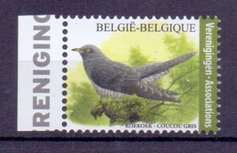 Belgie - 2021 - ** Koekoek - Vogels ** Andre Buzin. MNH - Nuevos