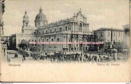 CPA Italie Italia CAtania Piazza Del Duomo - Sin Clasificación