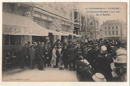 """Excursion De La """" CLOCHE """" Aux Sables D Olonne ( 7 Juin 1914 ) Sur Le Remblai - Sables D'Olonne"""