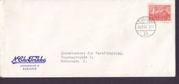 Denmark N. CHR. FRIKKE, Deluxe Brotype IId ESBJERG (B.) (Not In Catalogue !!) 1947 Cover Brief  Kirche Von Hvidbjerg - Briefe U. Dokumente
