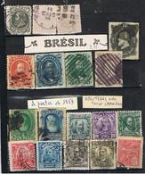 BRESIL-TIMBRES OBLITERES A PARTIR DE 1869- - Collections, Lots & Séries