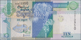 TWN - SEYCHELLES 36b - 10 Rupees 2008 Prefix AG - Signature: Francis Chang Leng UNC - Seychelles