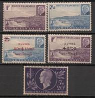 Martinique - 1941-45 - N°Yv. 189 à 190 + 196 à 198 - Pétain / Entraide - Neuf Luxe ** / MNH / Postfrisch - Neufs