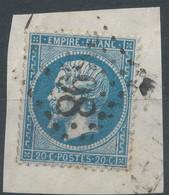 Lot N°59493  N°22/fragment, Oblit GC 3598 St-Florentin, Yonne (83), Ind 3 - 1862 Napoleon III