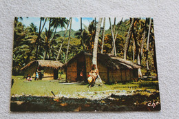 Cpm, Tahiti, Case Tahitienne, Polynésie Française - Polynésie Française