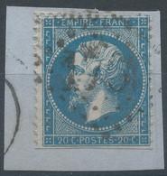 Lot N°59494  N°22/fragment, Oblit GC 1760 Harfleur, Pas-de-Calais (61), Ind 4 - 1862 Napoleon III