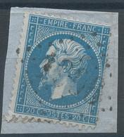 Lot N°59496  N°22/fragment, Oblit GC 1906 Juzennecourt, Haute-Marne (50), Ind 6 - 1862 Napoleon III