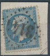 Lot N°59497  N°22/fragment, Oblit GC 3144 Riom, Puy-de-Dôme (62) - 1862 Napoleon III