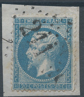 Lot N°59498  N°22/fragment, Oblit GC 211 Aubusson, Creuse (22) - 1862 Napoleon III
