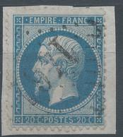Lot N°59499  N°22/fragment, Oblit GC 1461 Eymet, Dordogne (23), Ind 5 - 1862 Napoleon III