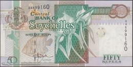 TWN - SEYCHELLES 38 - 50 Rupees 1998 Prefix AA - Signature: Norman Weber UNC - Seychelles