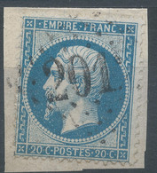 Lot N°59500  N°22/fragment, Oblit GC 2012 Lesparre, Gers (31), Ind 3 - 1862 Napoleon III