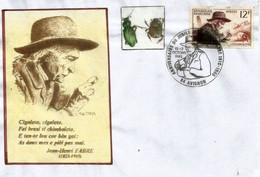 Jean-Henri Fabre,naturaliste & Entomologiste. Lettre De France (Avignon) 1985 - Other