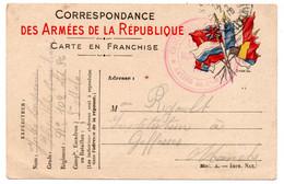 FRANCHISE MILITAIRE - CPFM - CORRESPONDANCE MILITAIRE - SAINT MALO - CASINO - CARTE FM - 1916. - Cartes De Franchise Militaire