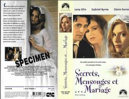 """SECRETS, MENSONGES ET MARIAGE"" -jaquette SPECIMEN Originale CIC VIDEO -polish Wedding - Drama"