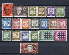 Berlin 1961 Completo ** MNH . - Unused Stamps