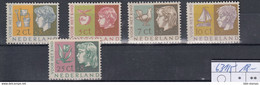 Niederlande Michel Cat.No. Mnh/** 631/635 - Unused Stamps