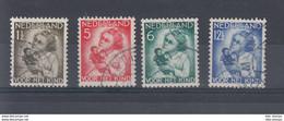 Niederlande Michel Cat.No. Used 277/280 - Used Stamps