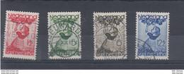 Niederlande Michel Cat.No. Used 287/290 - Used Stamps