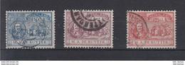Niederlande Michel Cat.No. Used 72/74 - Used Stamps
