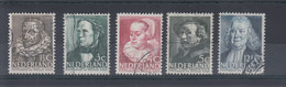 Niederlande Michel Cat.No. Used 313/317 - Used Stamps