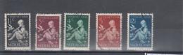 Niederlande Michel Cat.No. Used 322/326 - Used Stamps