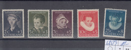 Niederlande Michel Cat.No. Mnh/** 685/689 - Unused Stamps