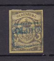 Oldenburg - 1859 - Michel Nr. 8 - Gestempelt - 750 Euro - Oldenburg
