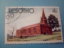 LESOTHO - Timbre De 1980 : Eglise Evangélique De Morija - Lesotho (1966-...)