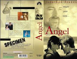 """""""ANGEL"""" -jaquette SPECIMEN Originale PARAMOUNT VIDEO -dying To Live -mourir Pour Vivre - Action, Adventure"""