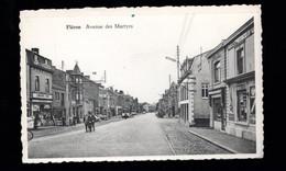 1030-FLERON-avenue Des Martyrs-tram-librairie-pub Bock Piedboeuf - Fléron
