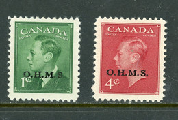 "Canada MH 1950 King George Vl ""Postes Postage"" - Nuevos"