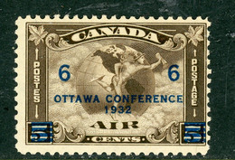 Canada MNH 1932 Airmail Surcharged - Nuevos