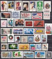 USA/Verenigde Staten - 2.100 Zegels - O - Onafgeweekt/op Fragment - Lots & Kiloware (mixtures) - Min. 1000 Stamps