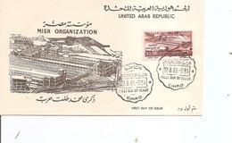 Egypte ( FDC De 1961 à Voir) - Covers & Documents
