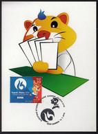 Croatia Zagreb 2016 / Bridge / European Universities Games / Mascot HRKI / MC / Sport - Sonstige