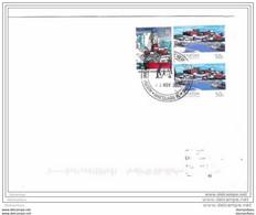 212 - 31 - Enveloppe Base De Macquarie Island - Cachet Illustré 2005 - Lettres & Documents