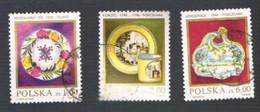 POLONIA (POLAND) - SG 2795.2798 - 1982 POLISH CERAMICS  - USED° - Used Stamps