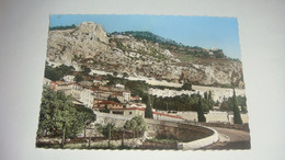 Carte Postale : Roquebrune-Cap-Martin, Le Quartier Saint-Roman - Roquebrune-Cap-Martin