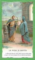 Santino/holy Card: FUGA IN EGITTO - E - PR - Cromolitogtafia - Religion & Esotericism