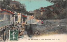 CPA MARSEILLE - Entrée Du Vallon De L'Oriol - Endoume, Roucas, Corniche, Strände