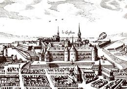 6673 SEDAN  Le Château Et La Ville Vers 1630 Gravure Anonyme (archives Départementales)   (scan Recto-verso) 08 Ardennes - Sedan