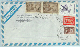 89896 - ARGENTINA - POSTAL HISTORY - AIRMAIL Cover To YUGOSLAVIA  1967 - Lettres & Documents