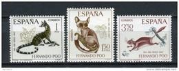 Fernando Poo 1967. Edifil 259-61 ** MNH. - Fernando Poo
